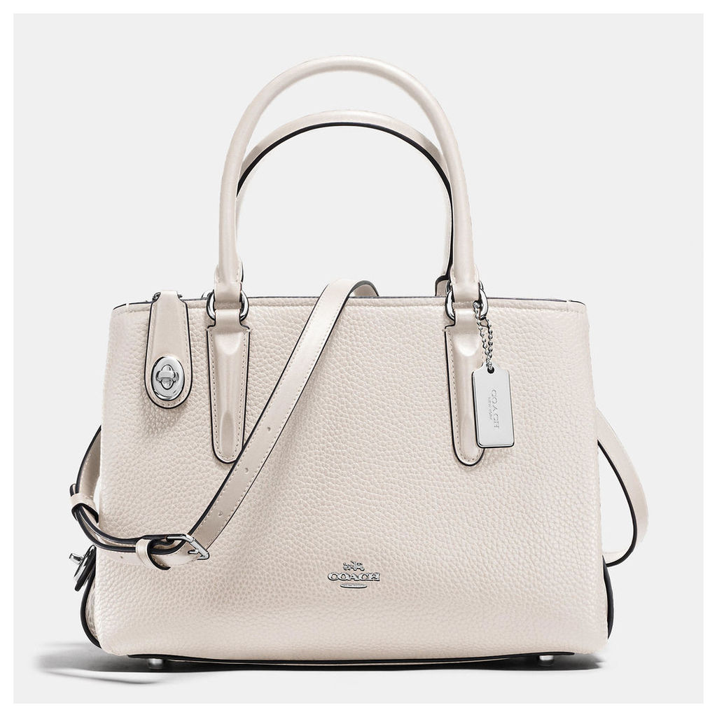 Coach Brookyln Carryall 28 In Pebble Leather