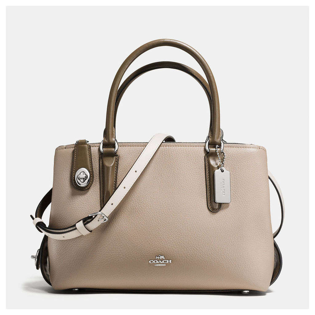 Coach Brooklyn Carryall 28 In Colorblock Mixed Materials