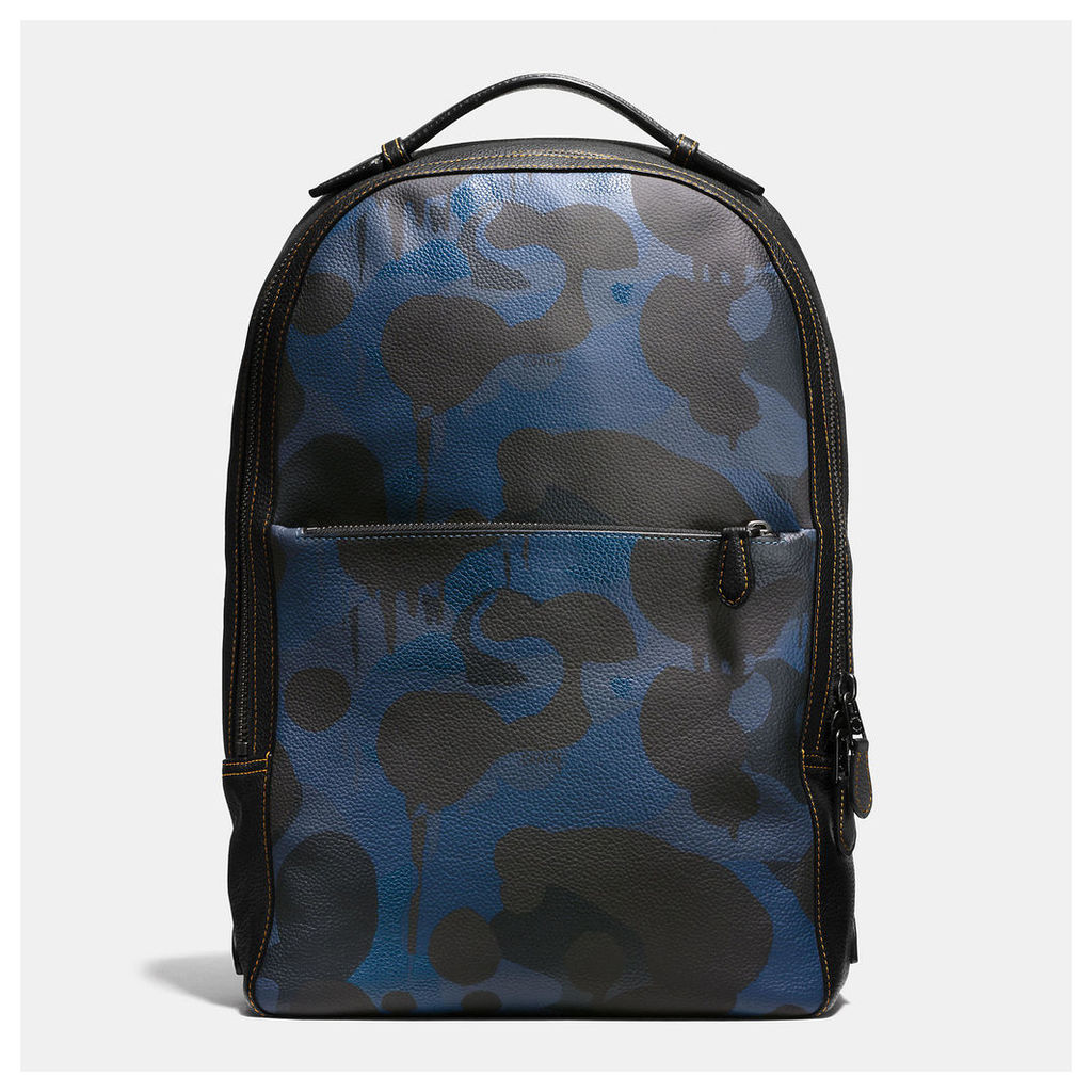 Coach Metropolitan Soft Backpack In Wild Beast Print Leather