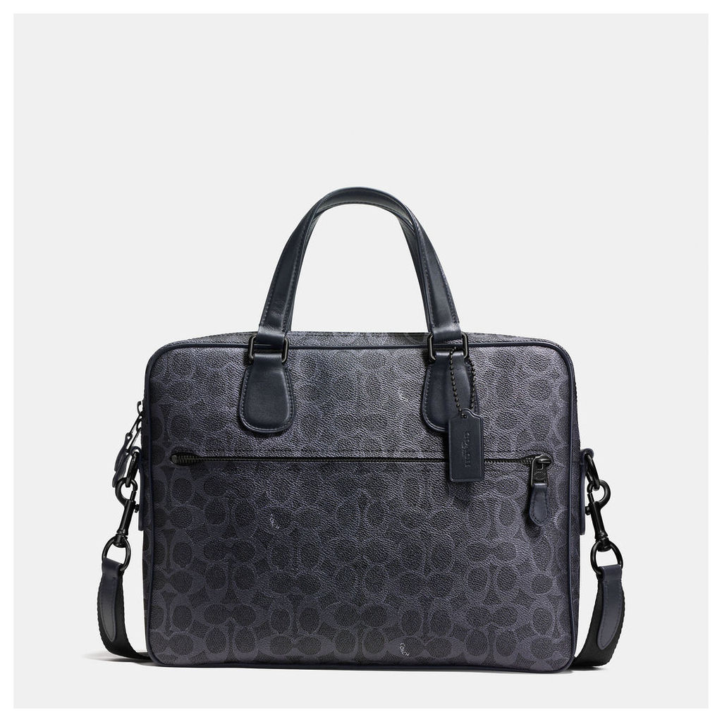 Coach Hudson 5 Bag In Signature Coated Canvas