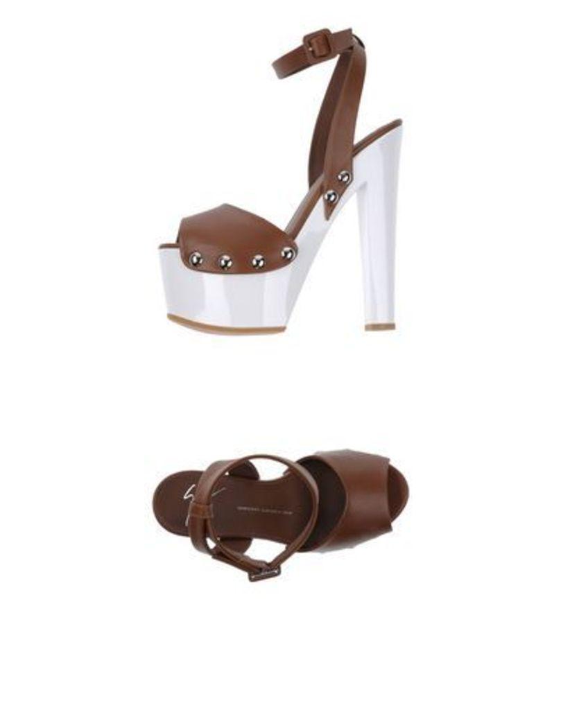 GIUSEPPE ZANOTTI DESIGN FOOTWEAR Sandals Women on YOOX.COM