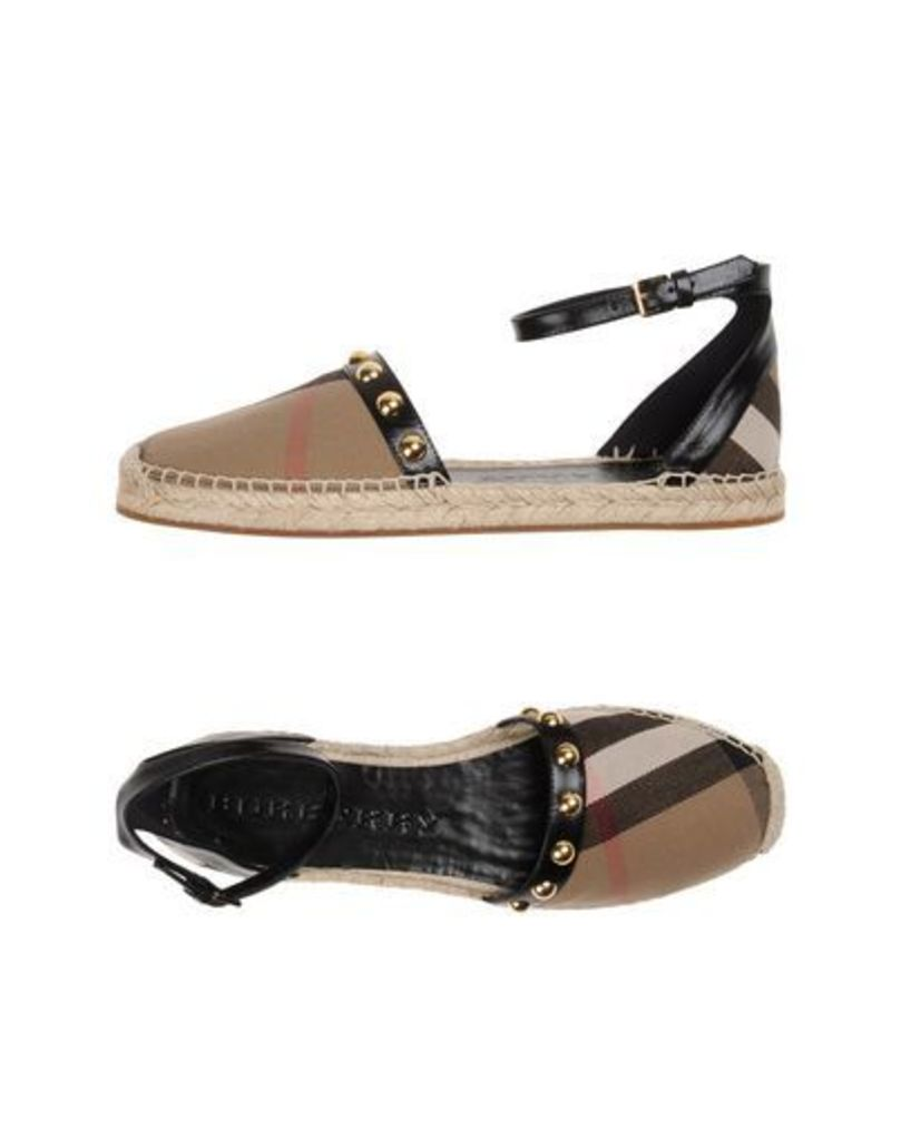 BURBERRY FOOTWEAR Espadrilles Women on YOOX.COM
