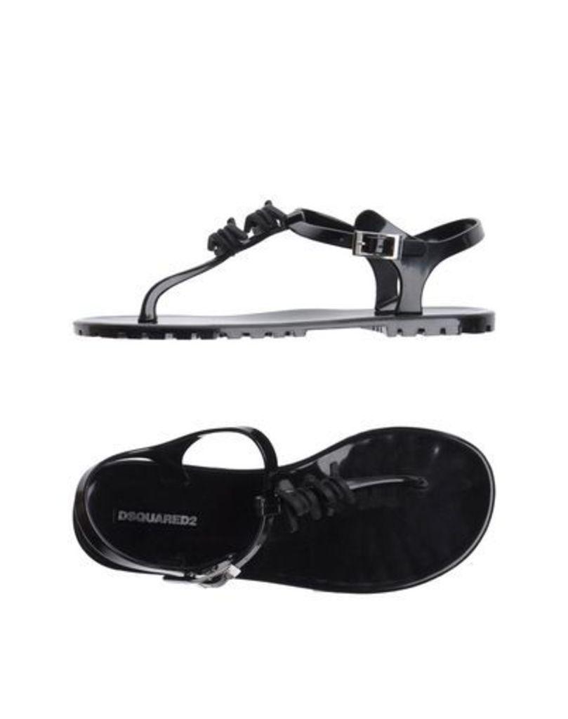 DSQUARED2 FOOTWEAR Thong sandals Women on YOOX.COM