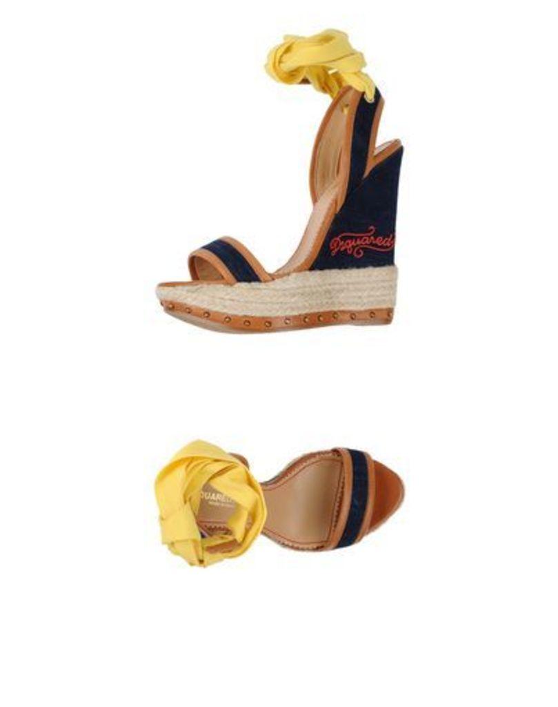 DSQUARED2 FOOTWEAR Espadrilles Women on YOOX.COM