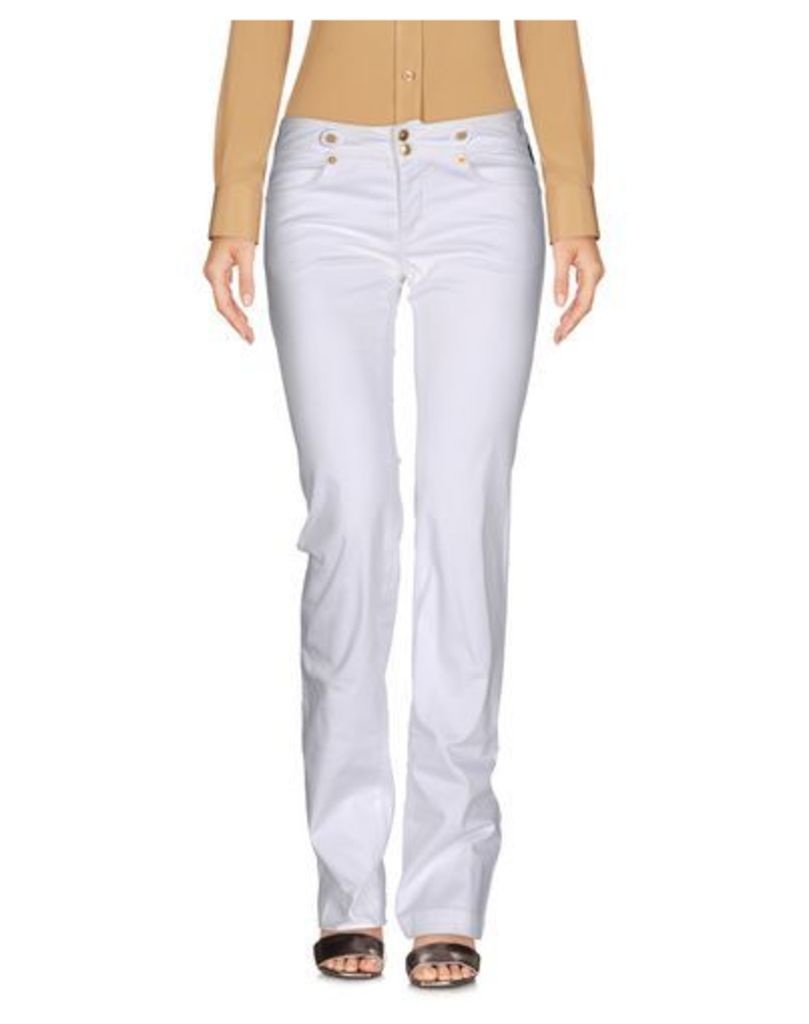 VERSACE JEANS COUTURE TROUSERS Casual trousers Women on YOOX.COM