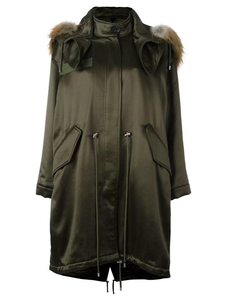 Alexander McQueen oversized parka, Women's, Size: 38, Green