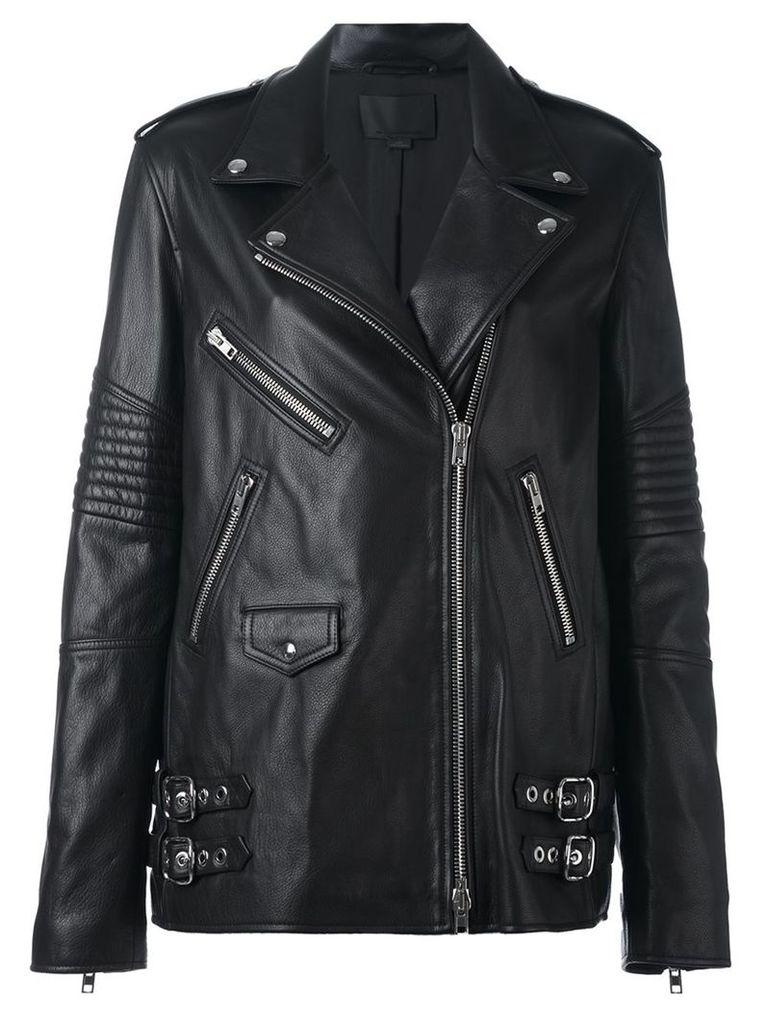 Alexander Wang classic biker jacket, Women's, Size: 8, Black