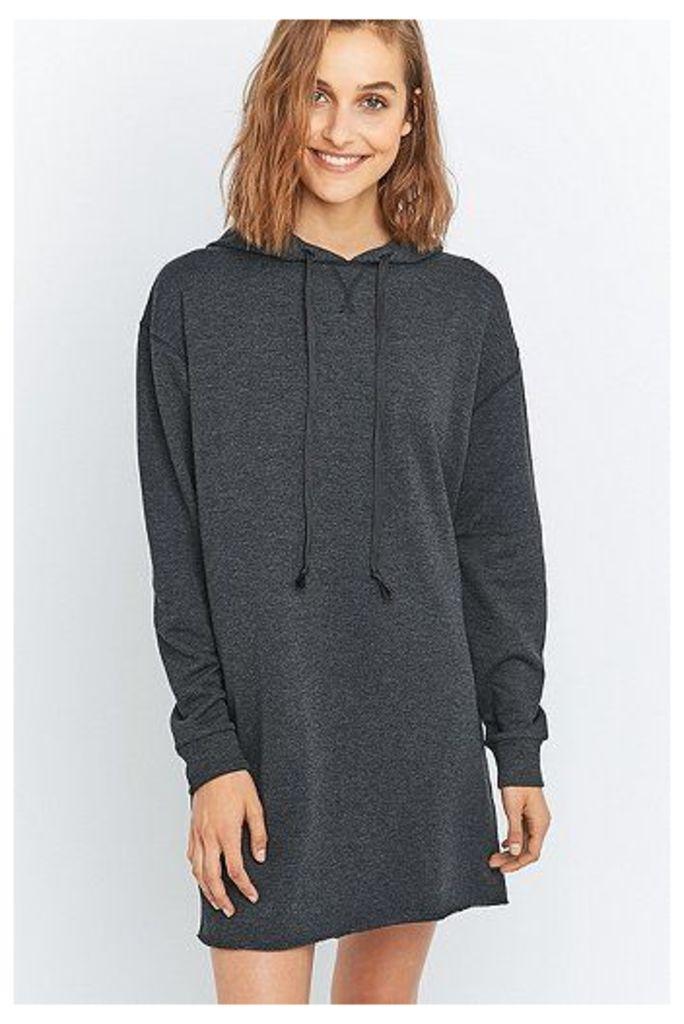 BDG Long Sleeve Hoodie Dress, Black