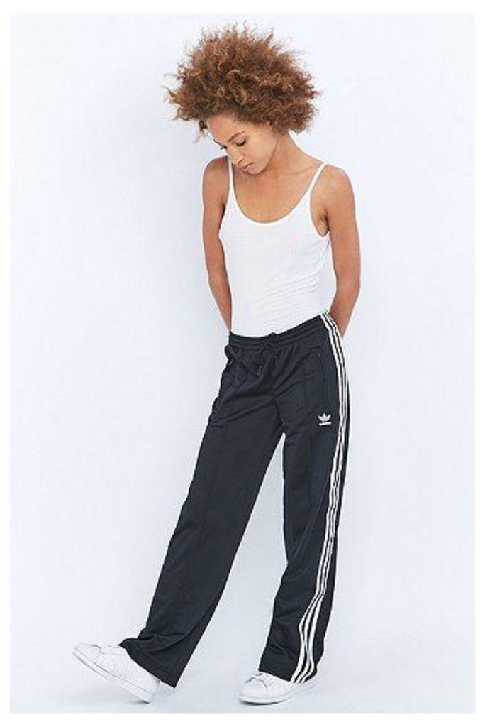 adidas Originals 3 Stripe Black Sailor Tracksuit Bottoms, Black
