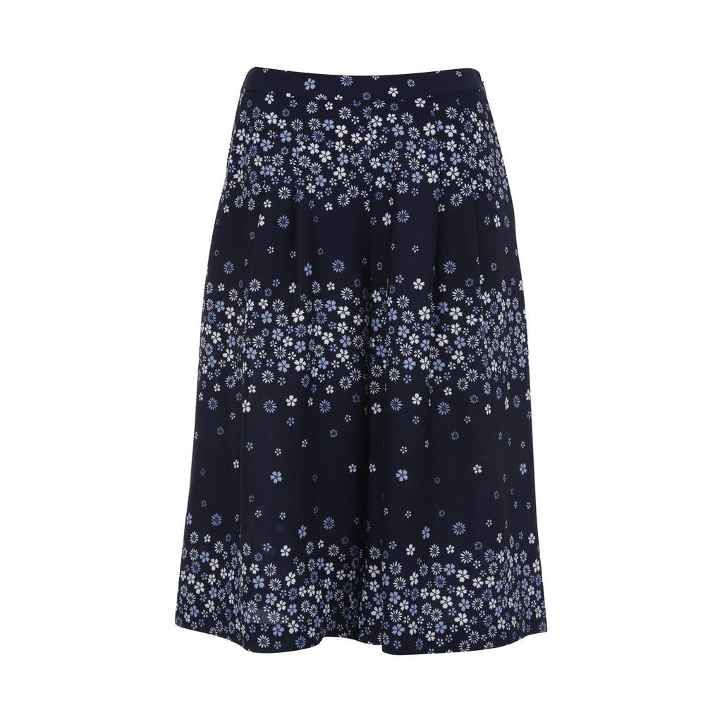 Scattered Daisy Print Culottes