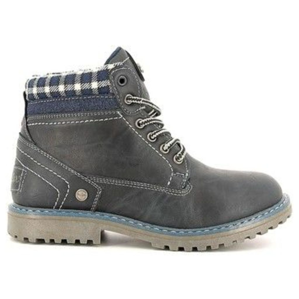 Wrangler  WJ16233B Ankle boots Kid  women's Mid Boots in Blue