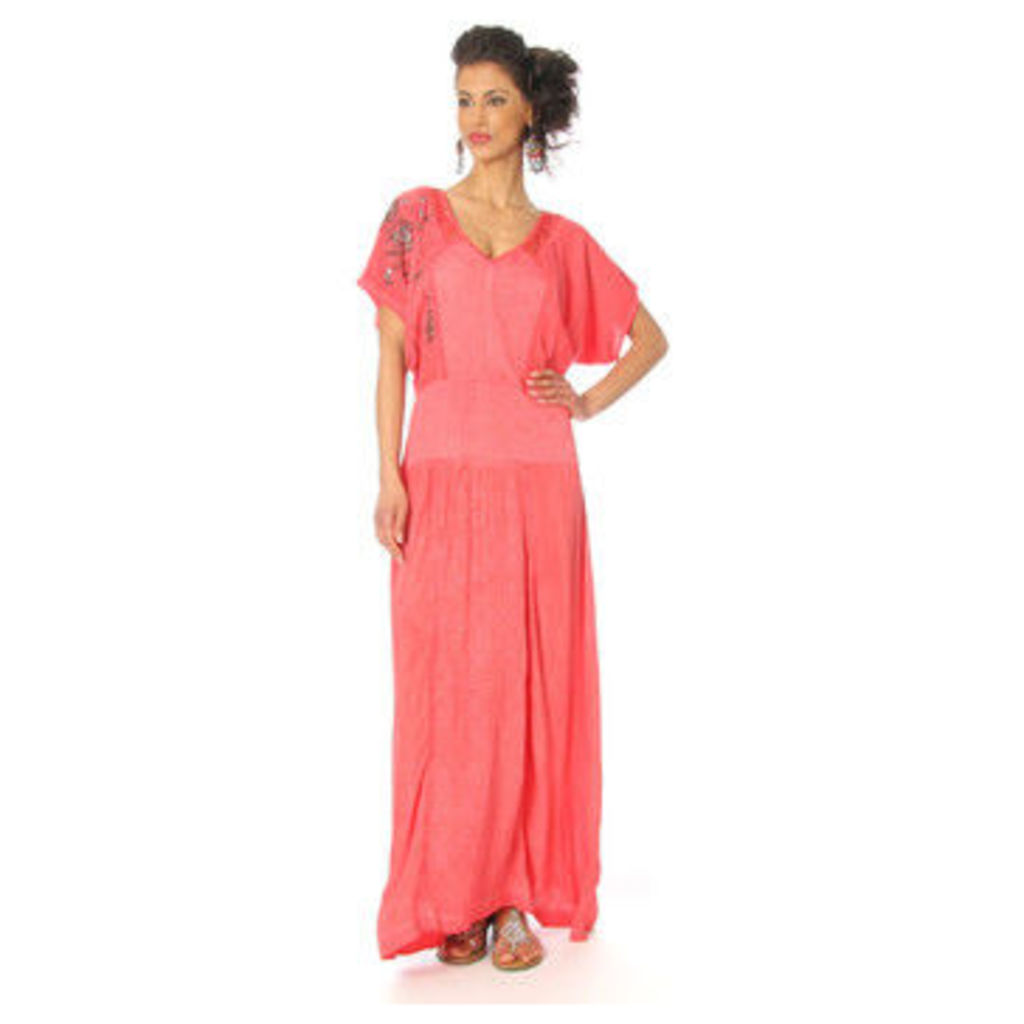 Angels Never Die  Dress RUTH  women's Long Dress in Red