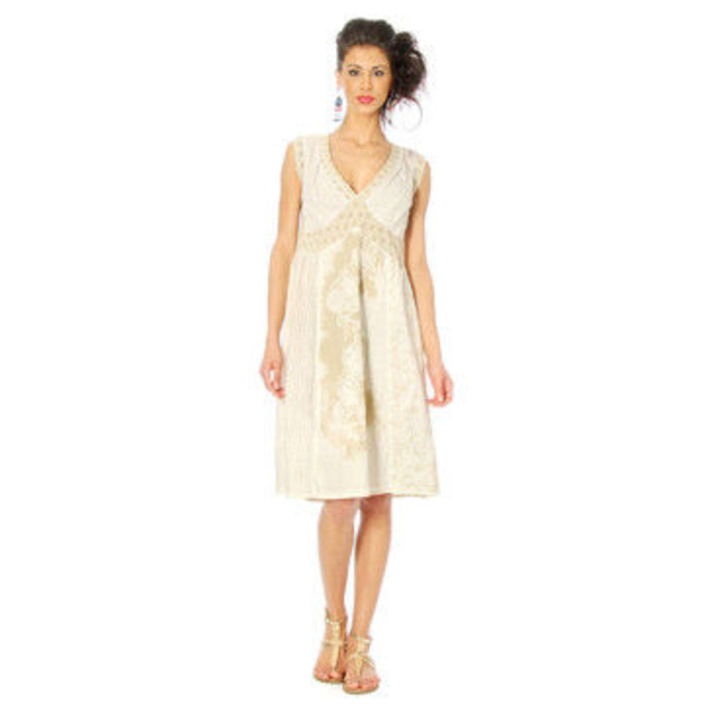 Angels Never Die  Dress APRIL  women's Dress in White