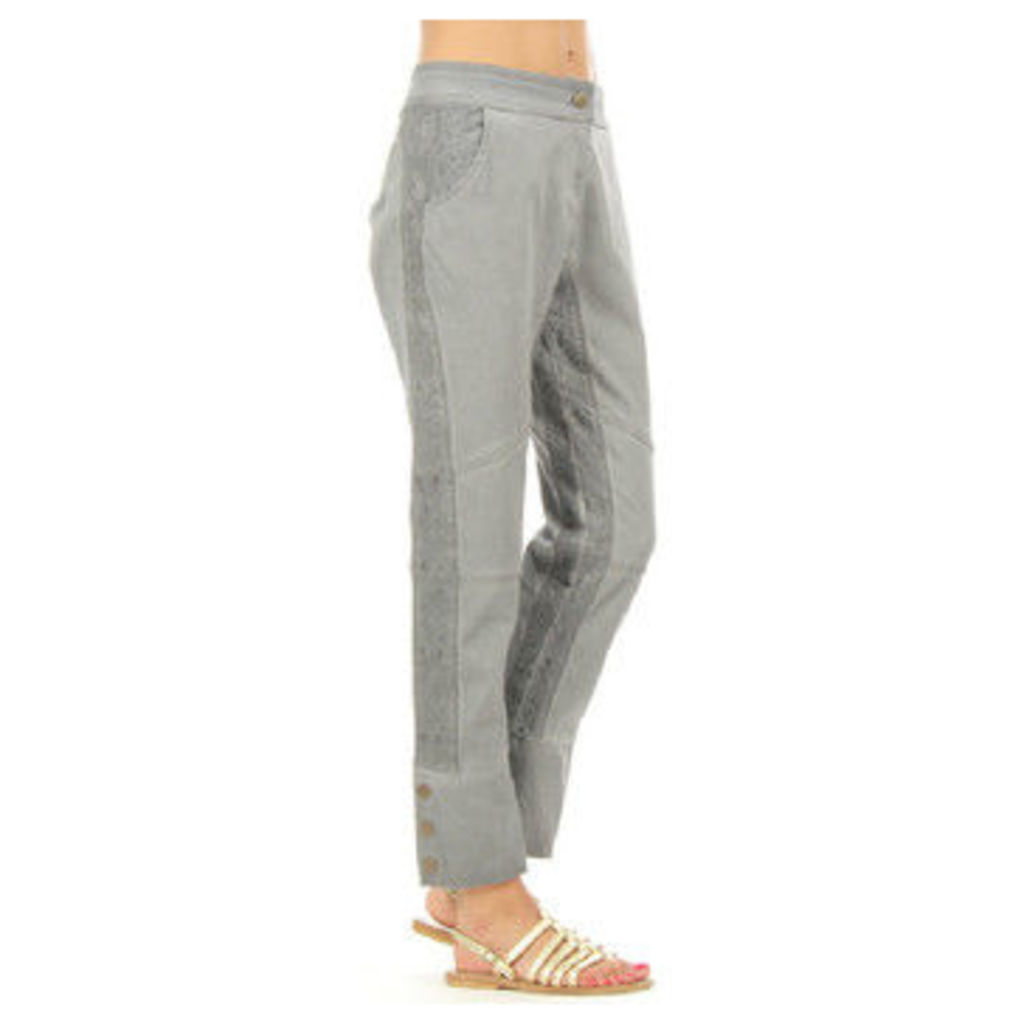 Angels Never Die  Trousers LOGAN  women's Trousers in Grey