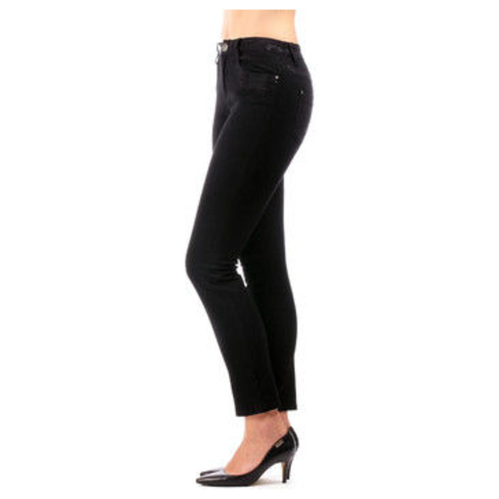 S'quise Jeans  Jean FUSION  women's Skinny Jeans in Black