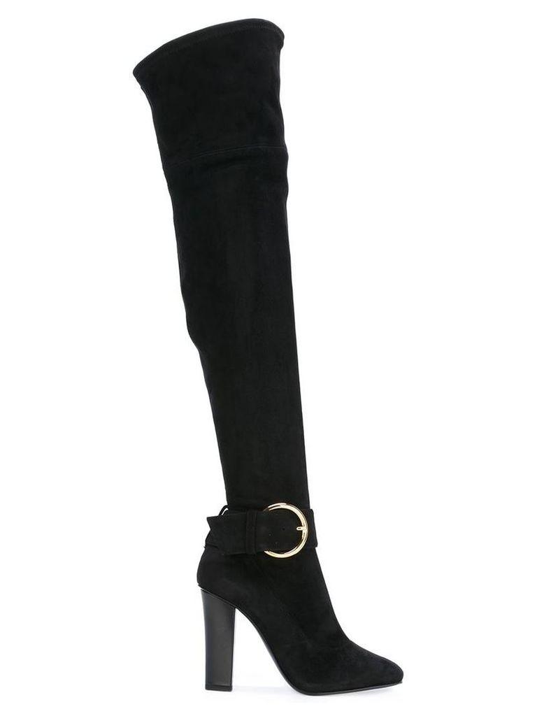 Giuseppe Zanotti Design 'Alabama' over-the-knee boots, Women's, Size: 39, Black