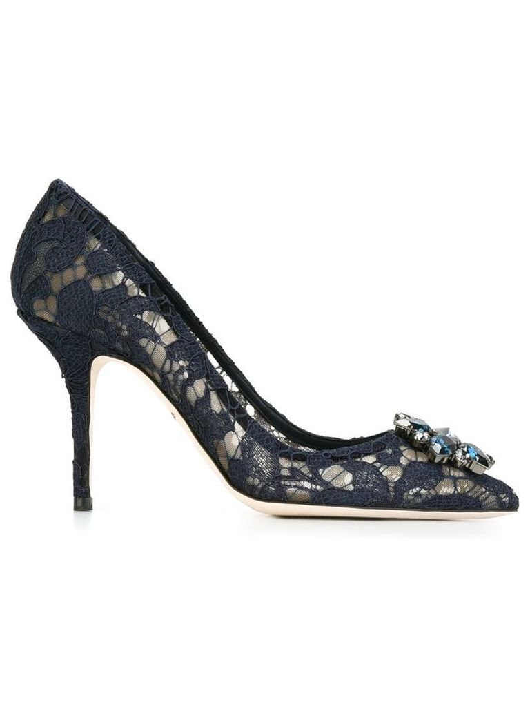 Dolce & Gabbana 'Belluci' pumps, Women's, Size: 40, Blue