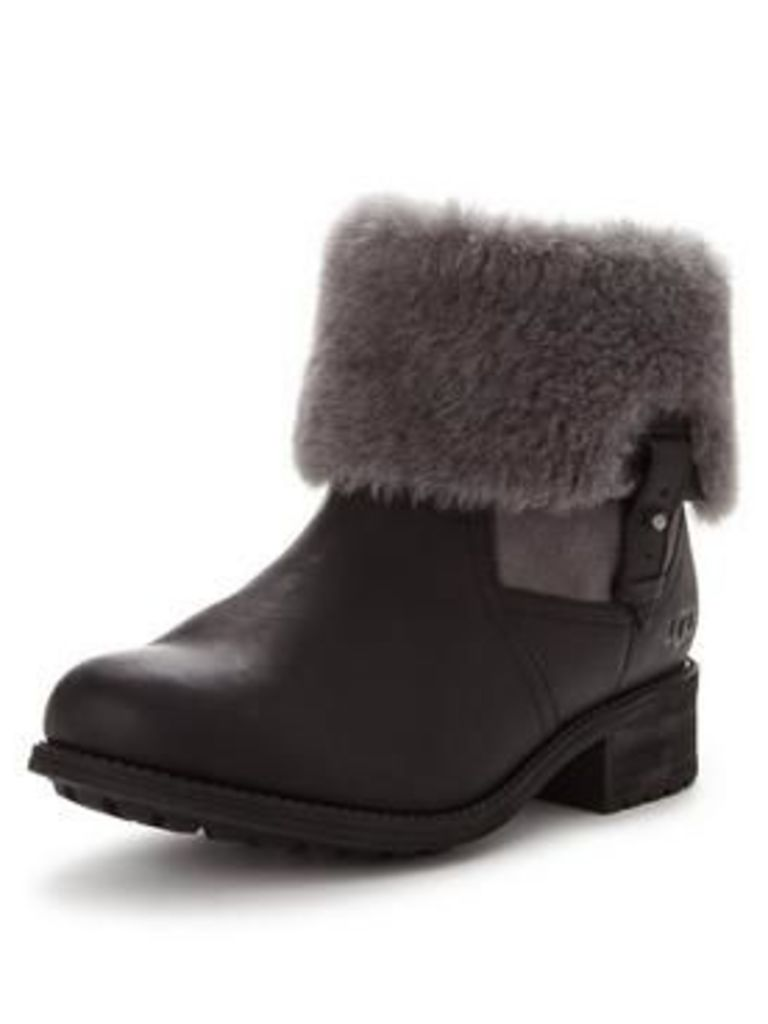 Ugg Chyler Exposed Shearling Ankle Boot