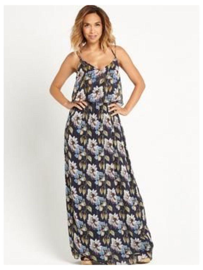 Myleene Klass Lurex Detail Maxi Dress