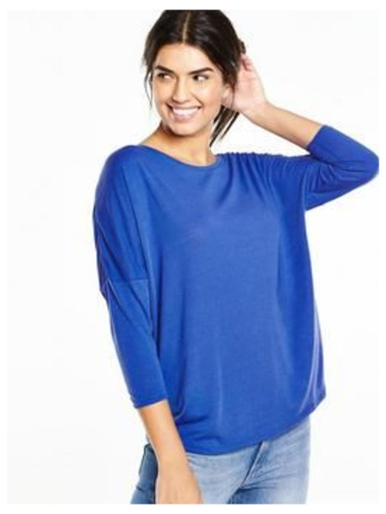 V By Very 3/4 Sleeve Oversized Top