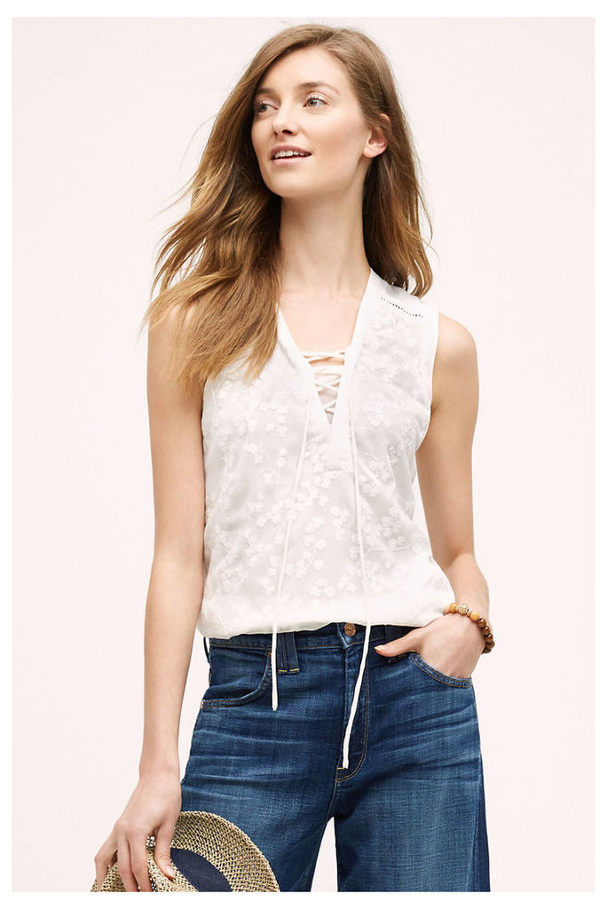 Lana Embroidered Tank Top