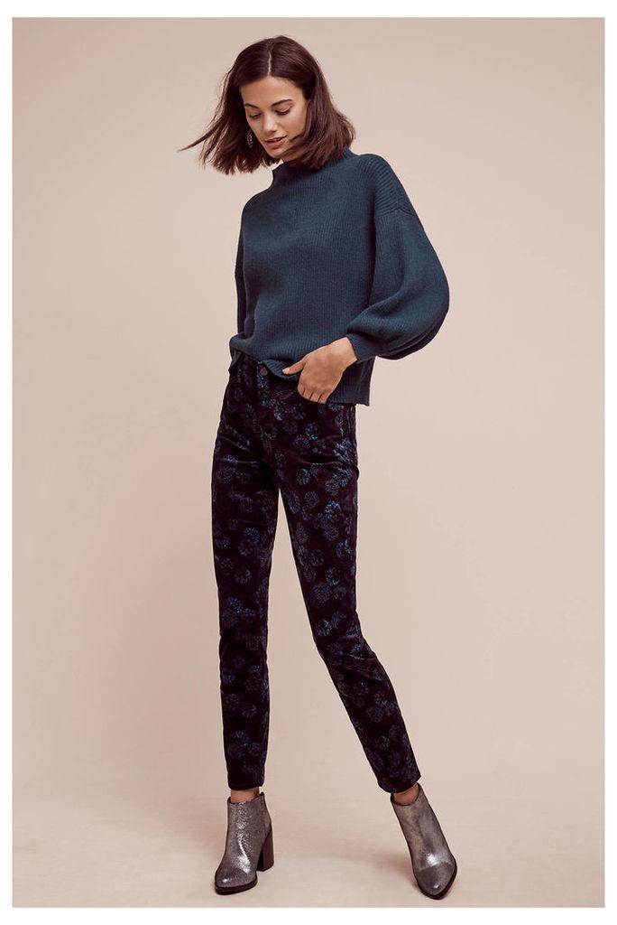 Pilcro High-Rise Velvet Jeans