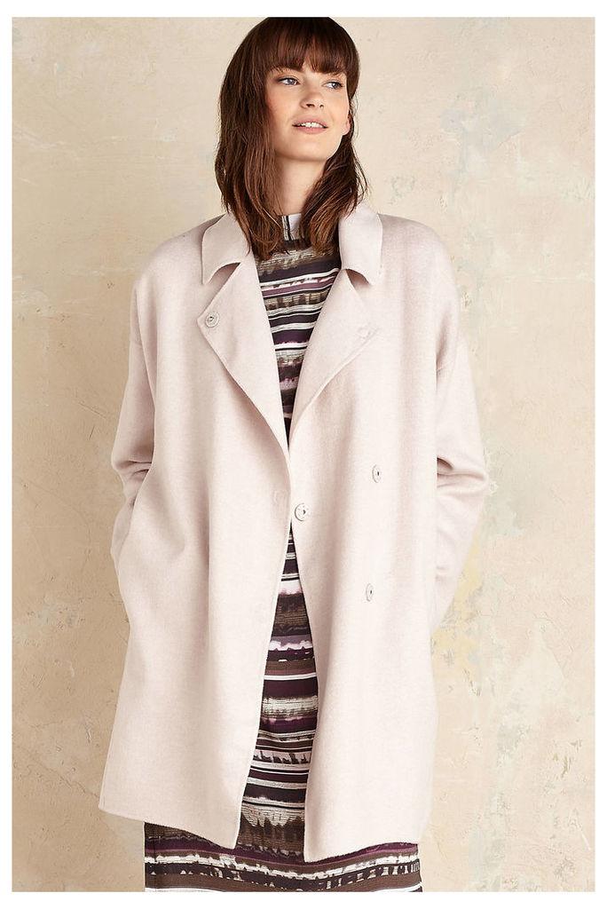 Kaia Wool Coat, Pink