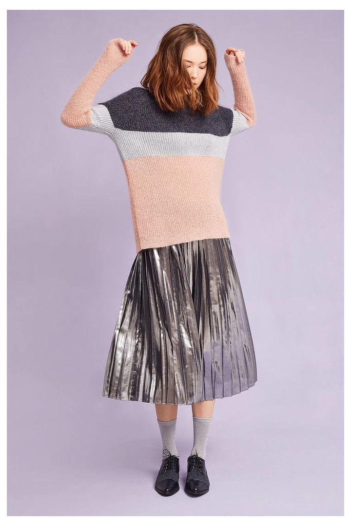 Rosetta Shimmered Colour Block Jumper