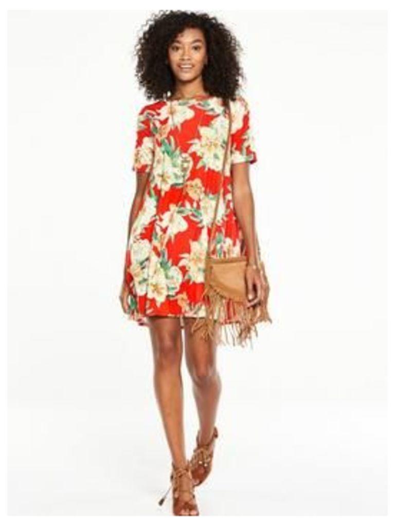 V By Very Short Sleeve Jersey Swing Dress