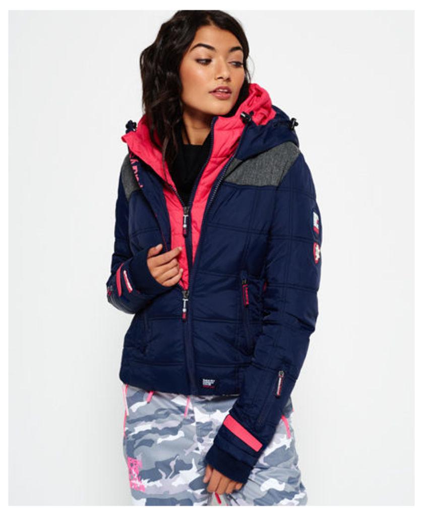 Superdry Box Polar Elements Hooded Ski Jacket