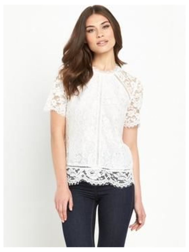 V By Very Floral Lace Top