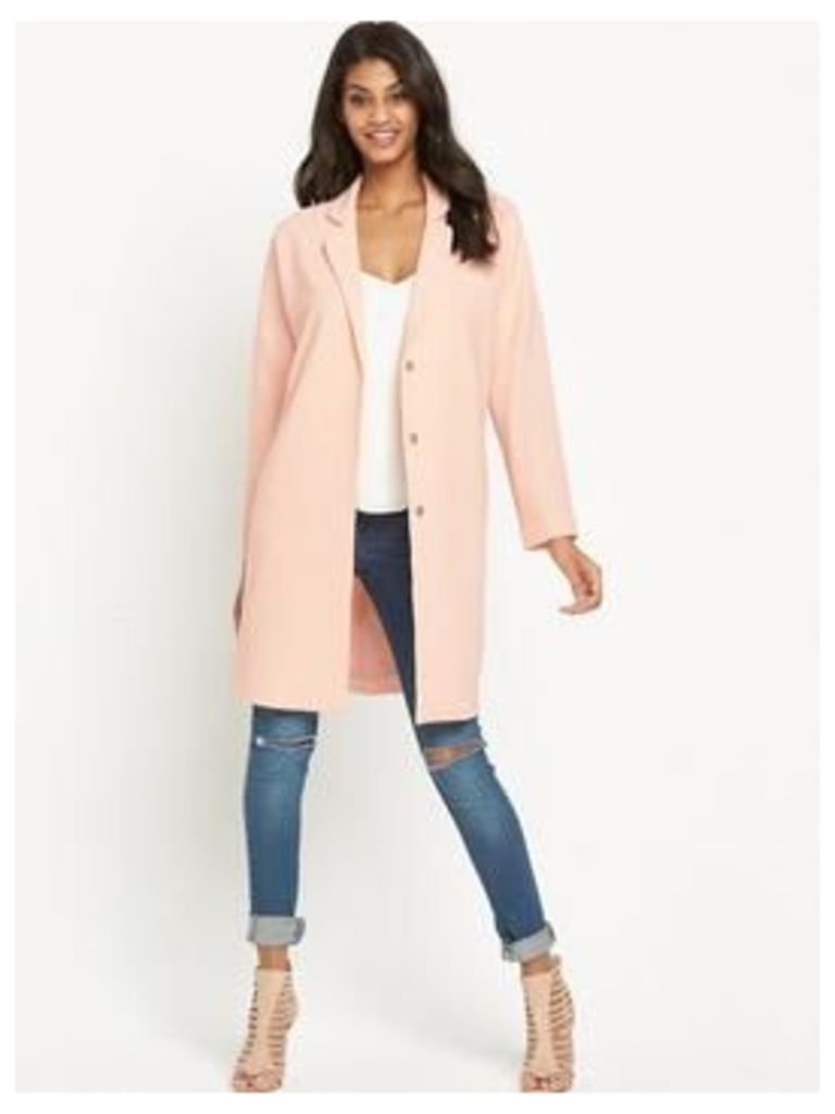 Vero Moda Duster Coat - Peach