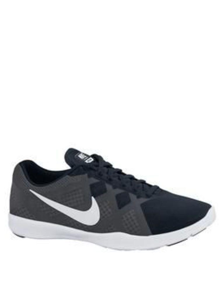Nike Lunar Lux Trainer, Black/White, Size 3, Women