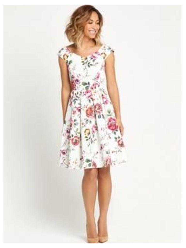 Myleene Klass Floral Prom Dress , Floral, Size 12, Women