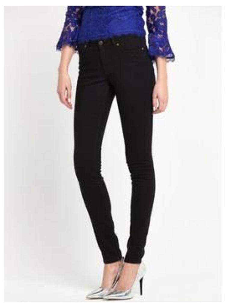 V by Very 1932 Harper Skinny Jeans , Indigo, Size 8, Length Regular, Women