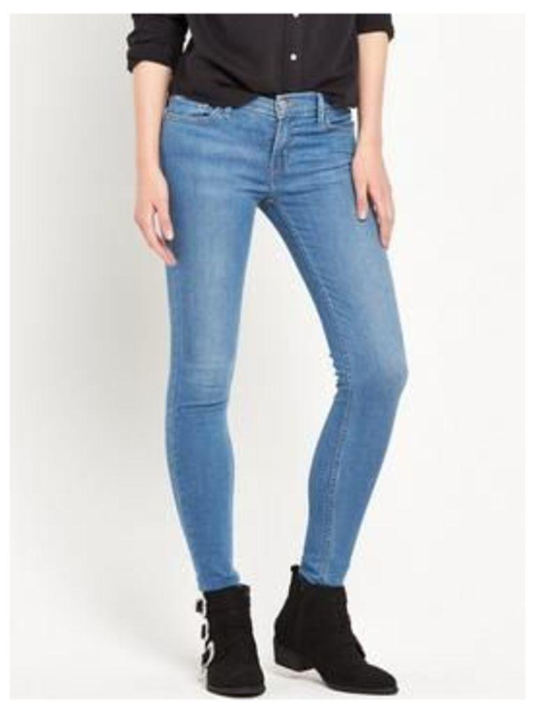 Levi's Innovation Super Skinny Jean - Spirit Song, Spirit Song, Size 28, Inside Leg Short, Women