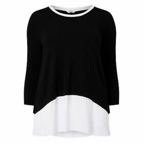 Studio 8 Kassandra Top, Black/White