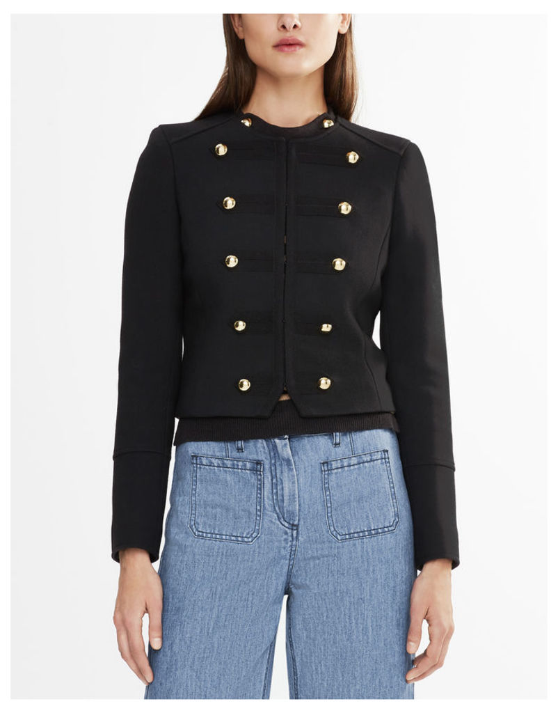 Belstaff Liv Tyler Laure Military Jacket Black