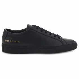 Common Projects Original Achilles leather low-top trainers, Women's, Size: 3, Navy mono