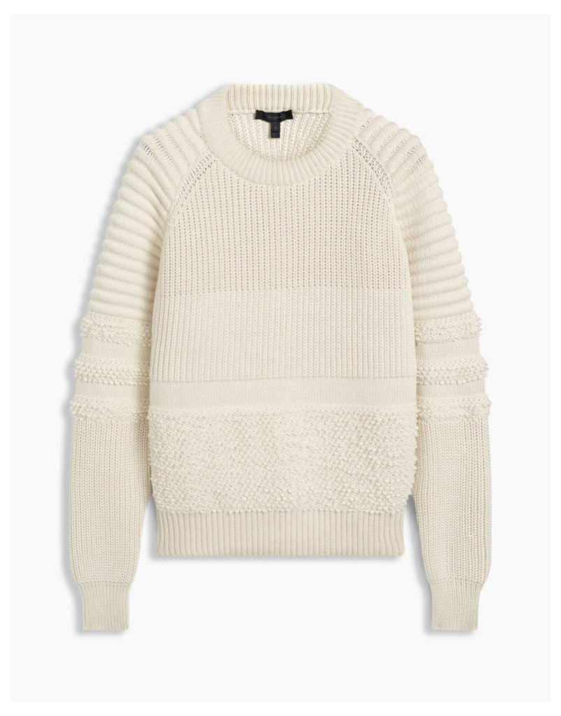 Belstaff Serena Crewneck Jumper Natural White