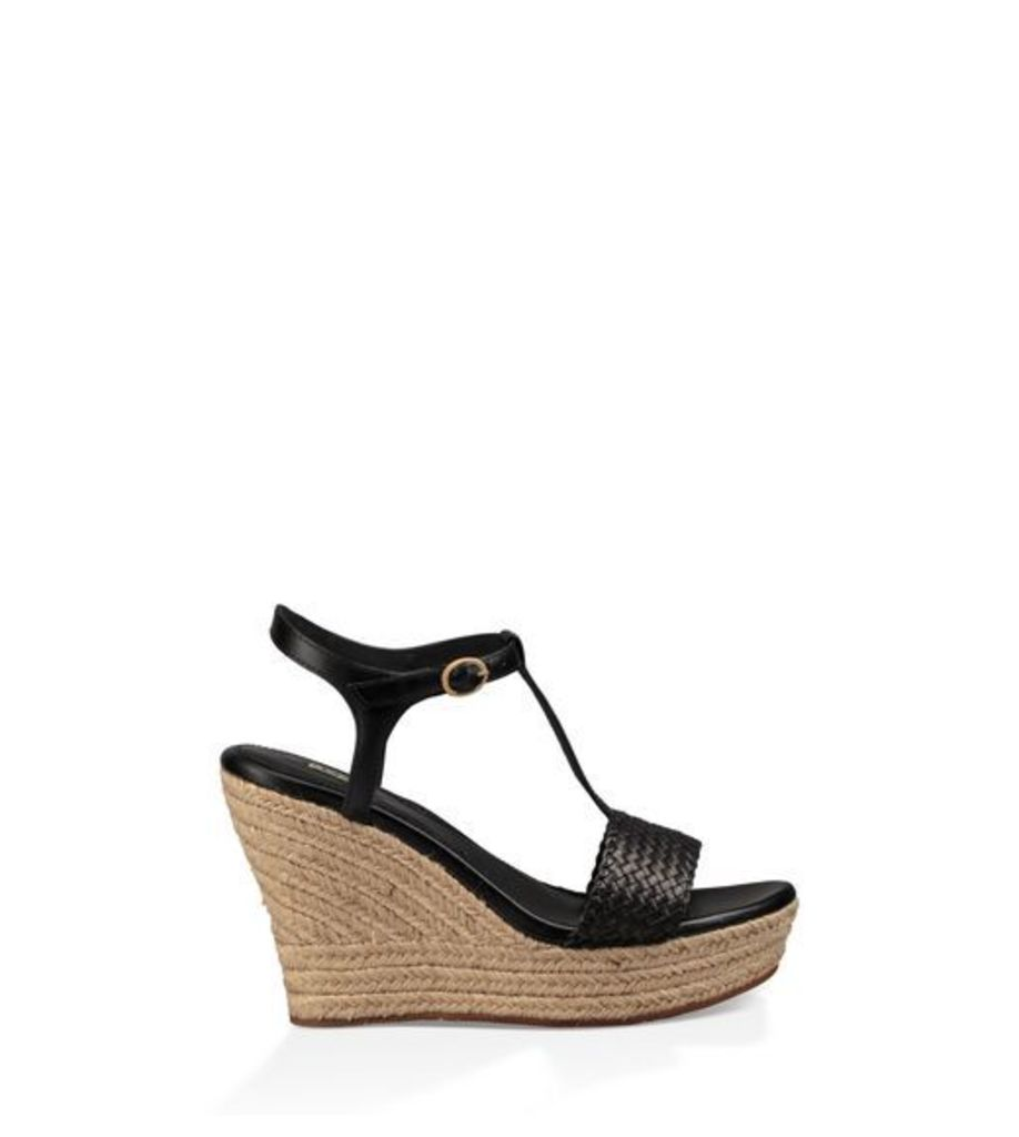 UGG Fitchie Ii Womens Sandals Black 8