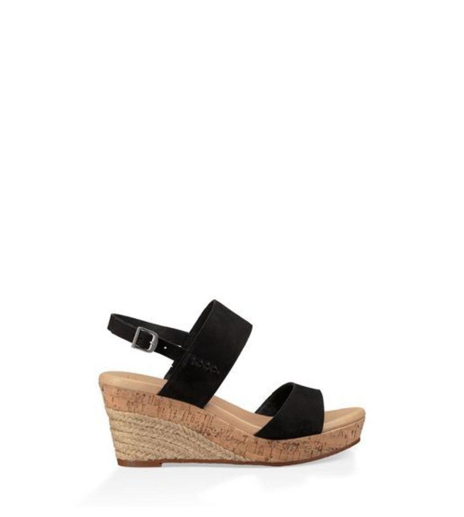 UGG Elena Womens Sandals Black 10