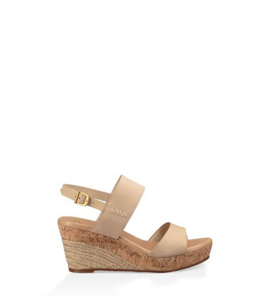 UGG Elena Womens Sandals Horchata 6.5