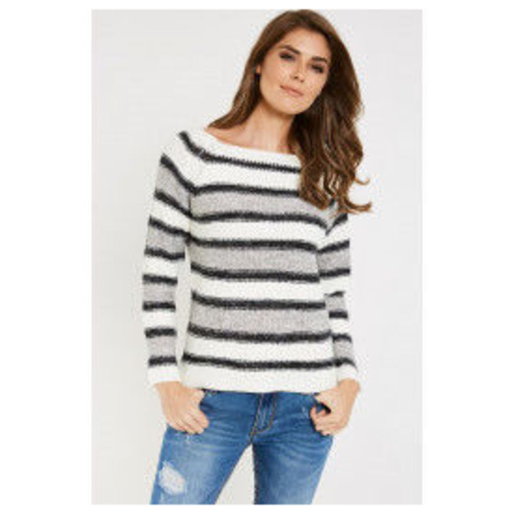 Vero Moda Mandy Long Sleeve Jumper - Grey