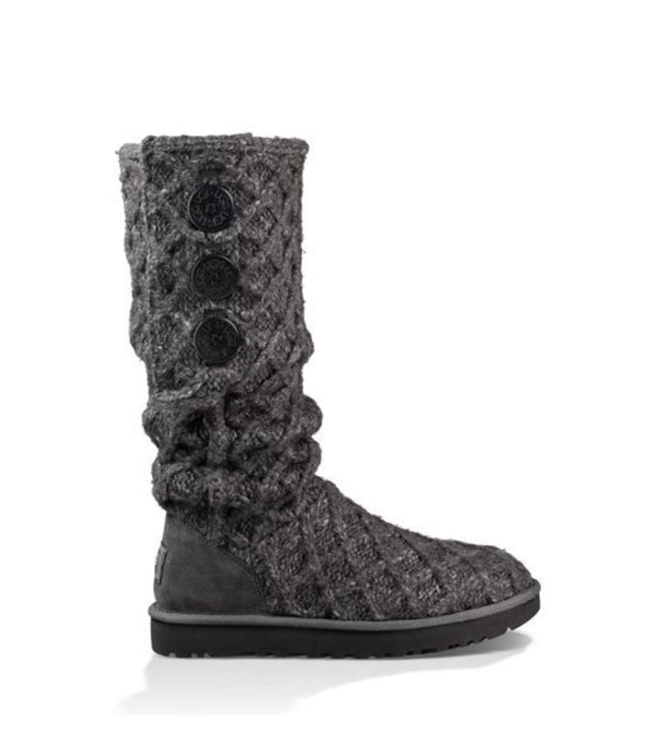 UGG Lattice Cardy Womens Classic Boots Charcoal 4