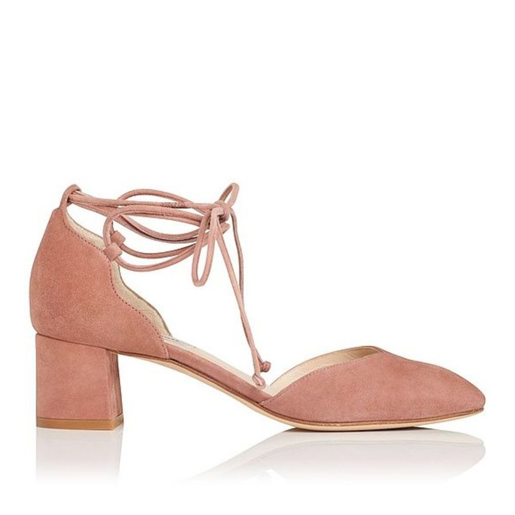 Lali Pink Suede Open Courts