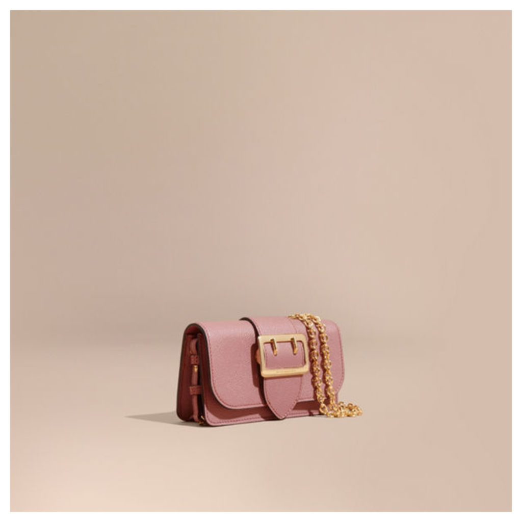 The Mini Buckle Bag in Grainy Leather