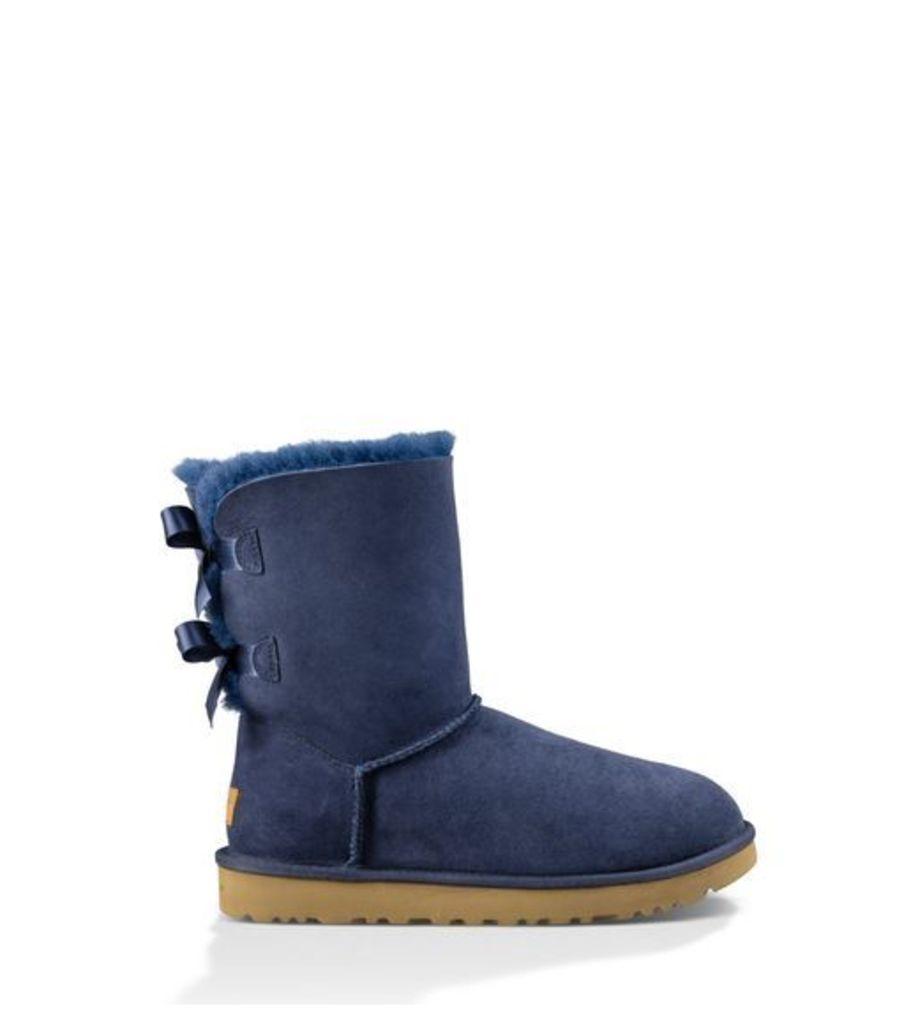 UGG Bailey Bow Ii Womens Classic Boots Navy 7