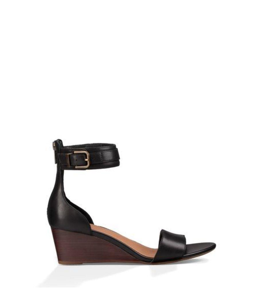 UGG Char Womens Sandals Black 7