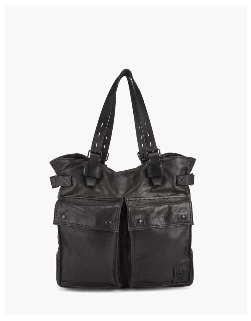 Belstaff Pinner Tote Bag Black